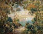 A Garden in Sorrento Poster Art Print by Pierre-Auguste Renoir