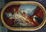 Venus and Cupid Poster Art Print by Francois Boucher