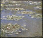 Nympheas, c.1905 Poster Art Print by Claude Monet