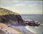 Lady's Cove, Langland Bay, 1897 Poster Art Print by Georges Lemmen