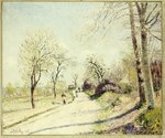 The Road from Veneux to Moret on a Spring Day, 1886 Poster Art Print by Caspar David Friedrich