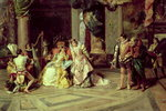 Galileo at the Court of Isabella, 1878 Poster Art Print by Albert Gustaf Aristides Edelfelt