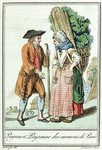 Peasants from the Paris Region, from 'Encylopedie des Voyages' by Jules Grasset de Saint-Sauveur