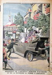 Fine Art Print of The Assassination of Archduke Franz Ferdinand of Austria by French School