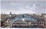 The Pont Neuf. c.1815-20 Poster Art Print by Franco-Flemish School