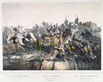 The Retreat of the French from Constantine on 24th November 1836 Poster Art Print by French School