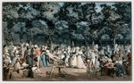 The Public Promenade, 1792 Poster Art Print by Carmontelle