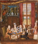 The Tea Party Poster Art Print by Gerard van Spaendonck