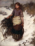 Winter Poster Art Print by William Henry Hunt