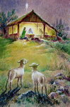 Fine Art Print of Nativity by Stanley Cooke