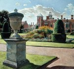 The Parterre and Yew Pillars at Blickling Hall, 1999 Poster Art Print by Claude Joseph Vernet