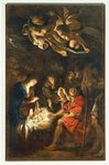 Adoration of the Shepherds, 1608 Poster Art Print by Guido Reni