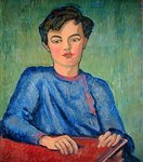 Portrait of Julian, the Artist's Son, aged 10, 1911