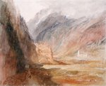 Couvent du Bonhomme, Chamonix, c.1836-42 Poster Art Print by Joseph Mallord William Turner
