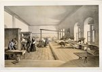 A Ward in the Hospital at Scutari, engraved by E. Walker, 1856 Poster Art Print by Clive Uptton