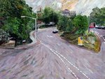Fine Art Print of View from a Flyover by Ellen Golla