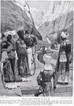 British taking possession of Aden, illustration from 'Hutchinson's Story of the British Nation' Poster Art Print by Spanish School