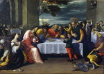 The Feast at the House of Simon Poster Art Print by Peter Paul Rubens
