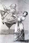193-0082174 Don't scream, stupid, 1799 Poster Art Print by Francisco Jose de Goya y Lucientes