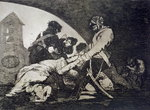Nor do these, plate 11 of 'The Disasters of War', 1810-14, pub.1863 Poster Art Print by Francisco Jose de Goya y Lucientes