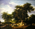 The Great Oak, 1652 Poster Art Print by John Constable