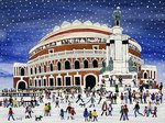 Royal Albert Hall, London Poster Art Print by Dirk Maes