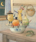 Fruits, 2003 Poster Art Print by Kestutis Kasparavicius