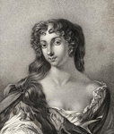Anne Wharton, illustration from 'A catalogue of Royal and Noble Authors, Volume III', published in 1806 Poster Art Print by English School