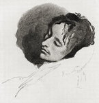 John Keats in his Last Illness, from 'The Century Illustrated Monthly Magazine', May to October, 1883
