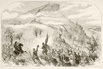The Battle of Lookout Mountain Poster Art Print by James Edwin McConnell
