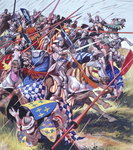 Agincourt - The Impossible Victory 25 October 1415 Poster Art Print by Janet and Anne Johnstone