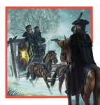 Highwayman Poster Art Print by Pat Nicolle