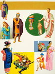 Ancient Costumes Poster Art Print by Shanti Panchal