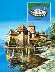 Chateau of Chillon Poster Art Print by David Herbert