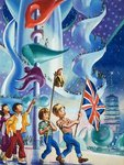 Wee Willie Winkie goes to Expo 70 in Osaka Poster Art Print by Gerry Wood