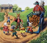 Brer Rabbit Poster Art Print by Sarah Thompson-Engels