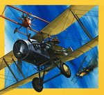 Planes from the Past: The Bristol F2B Fighter Poster Art Print by English School