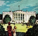 The White House Poster Art Print by English School