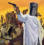 Ned Kelly, the Australian Robin Hood Poster Art Print by Clive Uptton