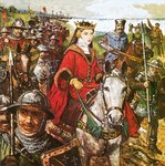 Fine Art Print of Queen Isabella invading England by Clive Uptton