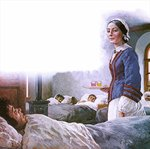Fine Art Print of Florence Nightingale by Clive Uptton