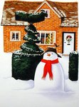 The Snowman Poster Art Print by Linda Benton