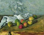 Still Life Poster Art Print by Paul Cezanne