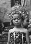 Bali Aga little girl Poster Art Print by Indian Photographer