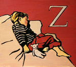 Z is for Zzz, 2007 Poster Art Print by Maylee Christie