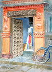 Fine Art Print of In the Old Town, Bhuj, 2003 by Lucy Willis