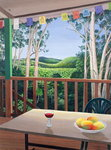 Annie's Deck in Kuranda, Queensland Australia, 2006 Poster Art Print by William Grant