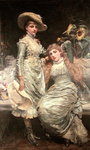 The Two Sisters Poster Art Print by Thomas Gainsborough
