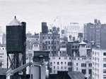 New York Water Towers, 2002 Poster Art Print by Assaf Frank