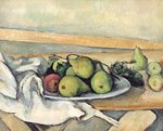 Still Life with Pears, c.1879-82 Poster Art Print by Paul Cezanne